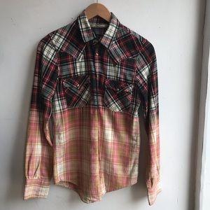 Zara two tone flannel
